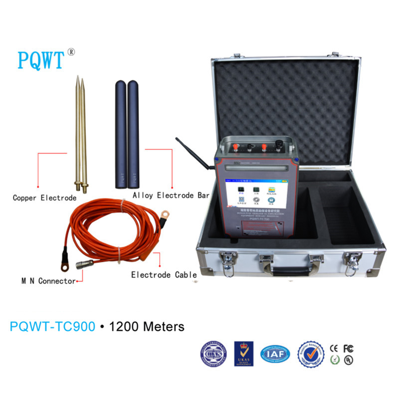 PQWT-TC900 1200 Meters Automatic Mapping Underground Water Detector